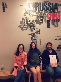 Trang (Vietnam), Samantha (Malaysia), Pang (Thailand)