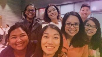 Pang (Thailand), Vishanthini (Malaysia), Samantha (Malaysia), Thanh (Vietnam), Trang (Vietnam), Yushen, Yen (Vietnam).