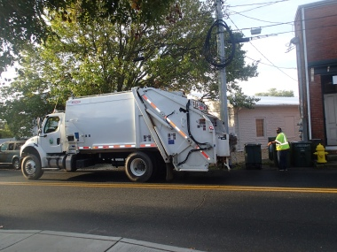 Refuse MSW Collection Truck
