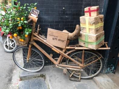 bamboo bike hoi an