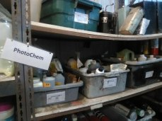 Photo-chemicals can be used by people who got license