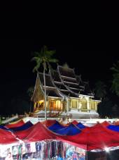 Haw Pha Bang - Royal Temple and Night Market in Luang Prabang