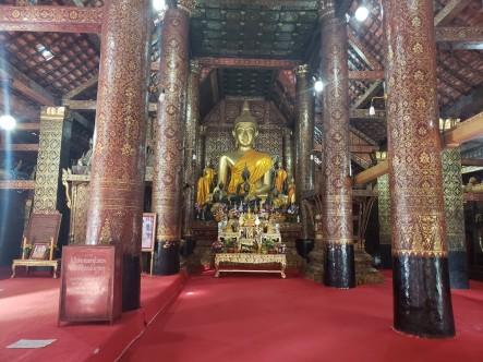 Buddha in Wat Xieng Thong