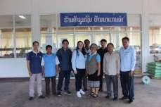 Excursion team at Hongsa Resettlement store